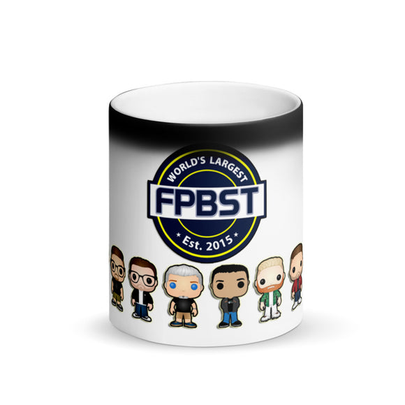 FPBST Admins Logo Matte Black Magic Mug