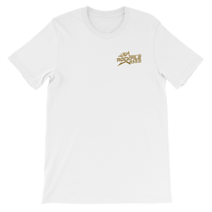 Rockfile Radio Logo 2-sided Short-Sleeve Unisex T-Shirt