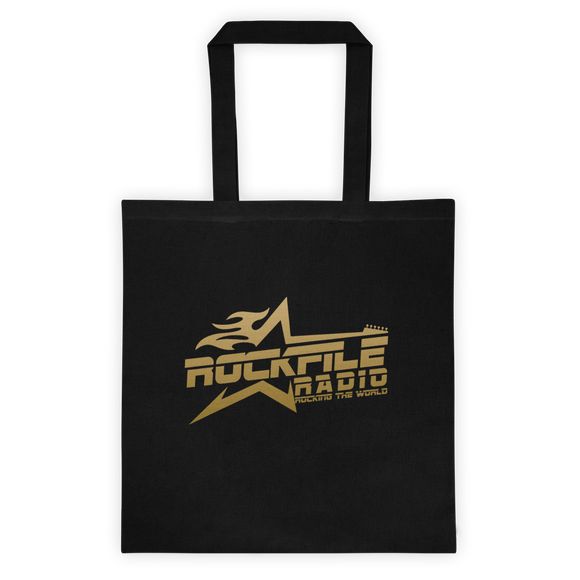 Rockfile Radio Logo Tote bag