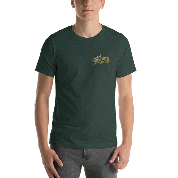 Rockfile Radio Pocket Logo Short-Sleeve Unisex T-Shirt
