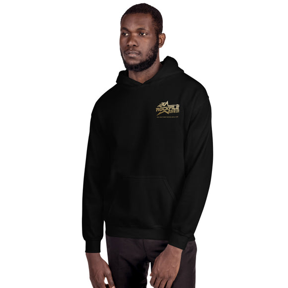 Rockfile Radio Explorer 2-Sided Unisex Hoodie