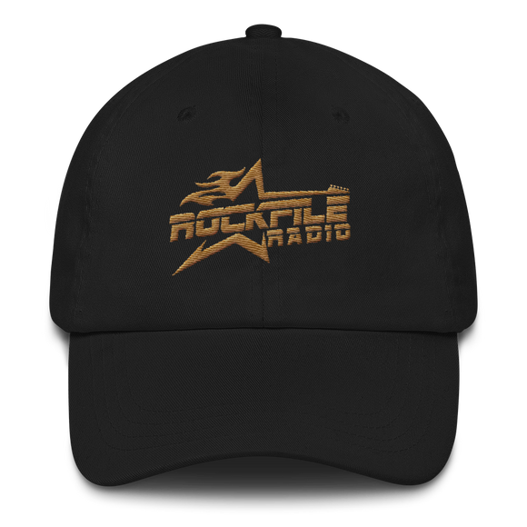 Rockfile Radio Logo Embroidered Dad hat