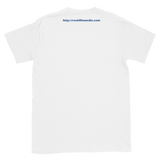 Rockfile Media Logo Pocket Web Address Back Short-Sleeve Unisex T-Shirt