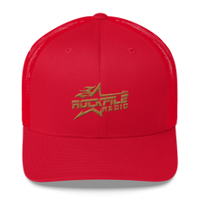 Rockfile Radio Logo Embroirdered Trucker Cap