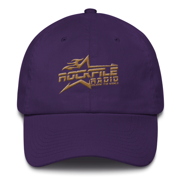 Rockfile Radio Logo Embroidered Cotton Cap