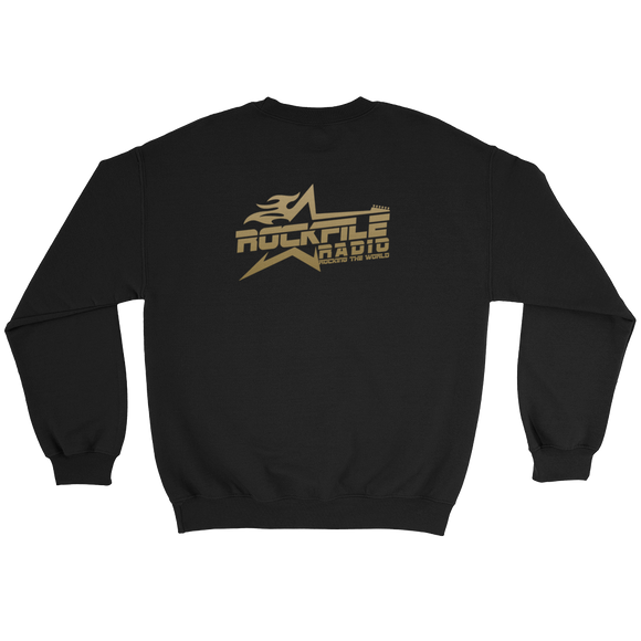 Rockfile Radio Logo 2-sided Sweatshirt