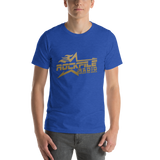 Rockfile Radio Logo Short-Sleeve Unisex T-Shirt