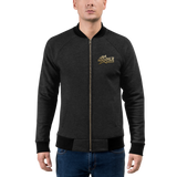Rockfile Radio 3D Logo Bomber Jacket