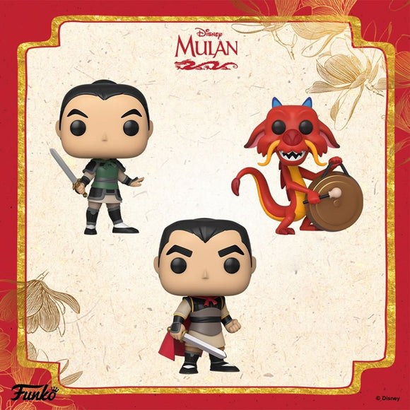 POP! Disney MULAN BUNDLE 3-Pack (PRE-ORDER)