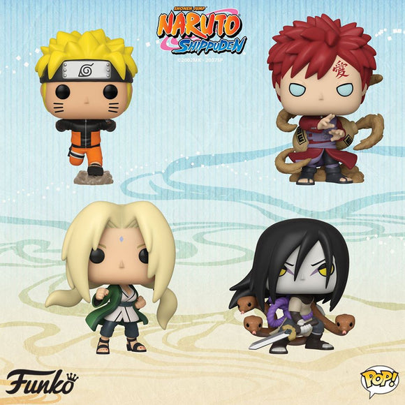 POP! Animation NARUTO BUNDLE 4-Pack (PRE-ORDER)