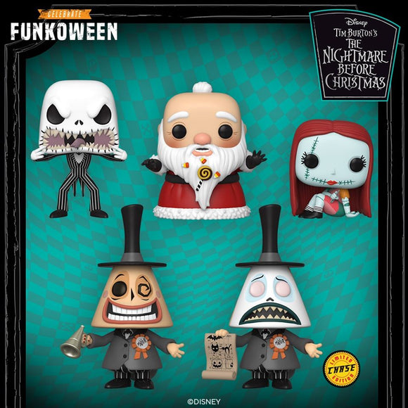 POP! Disney The Nightmare Before Christmas CHASE Bundle 6-Pack (PRE-ORDER)