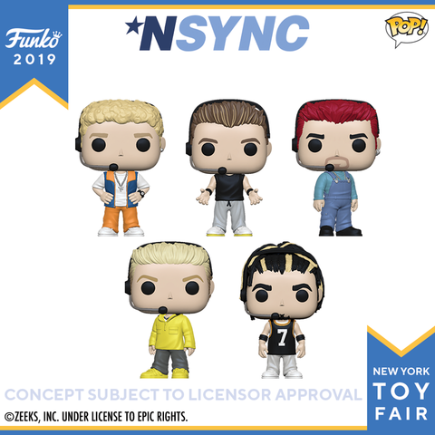 POP! Rocks *NSYNC 5-Pack Bundle (PRE-ORDER)
