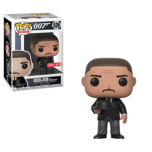 POP! Movies 007 ODDJOB From Goldfinger (exclusive)