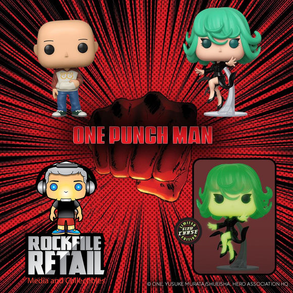 POP! Animation One Punch Man CHASE 3-Pack (PRE-ORDER)