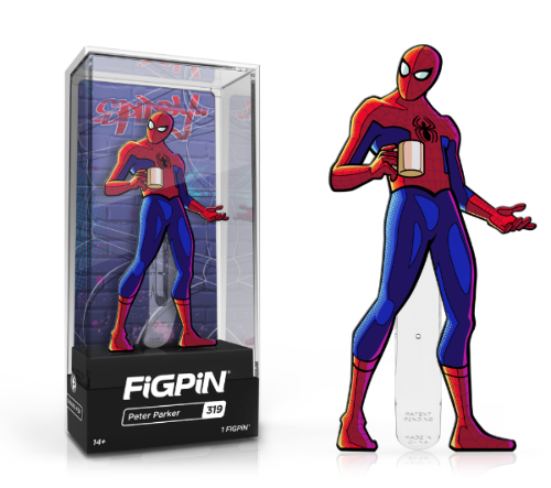 FiGPiN #319 Into The Spider-Verse PETER PARKER Enamel Pin (PRE-ORDER)
