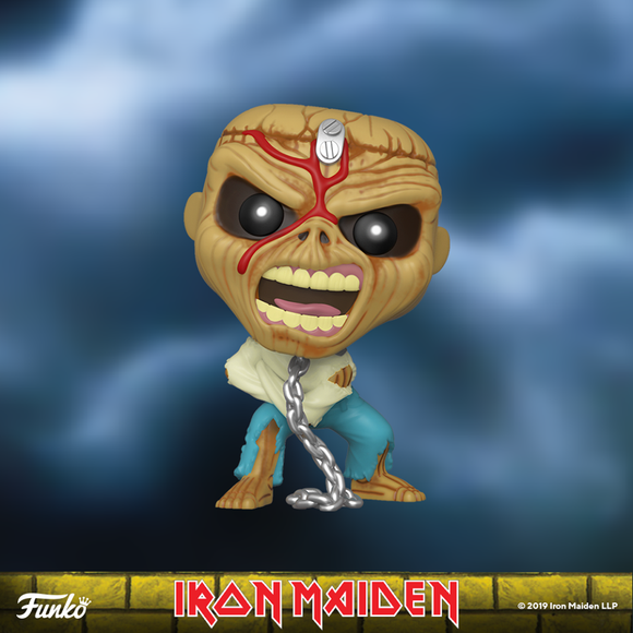 POP! Rocks Iron Maiden PIECE OF MIND EDDIE