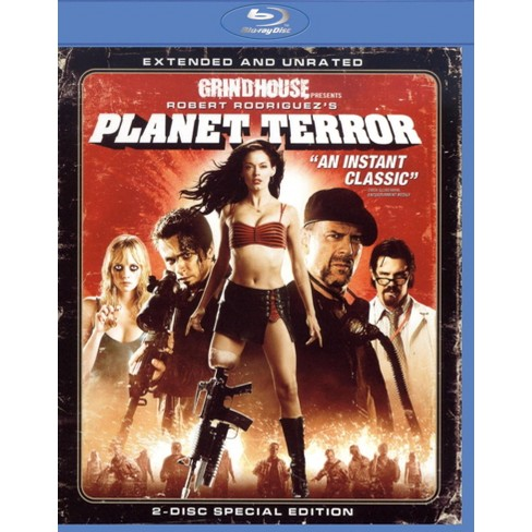 PLANET TERROR (Extended and Unrated) Blu-Ray
