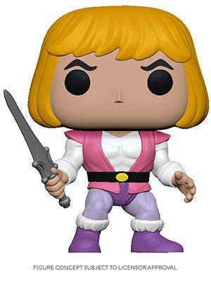 POP! Animation Masters Of The Universe PRINCE ADAM (PRE-ORDER)
