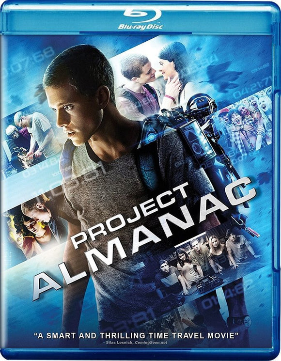 PROJECT ALMANAC Blu-Ray
