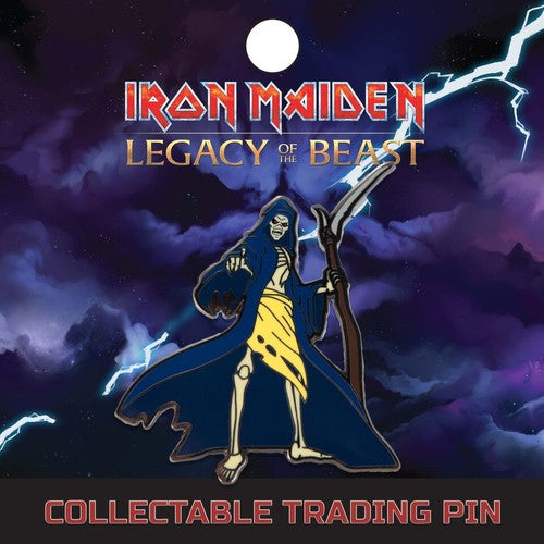 IRON MAIDEN Reaper Eddie Lapel Pin