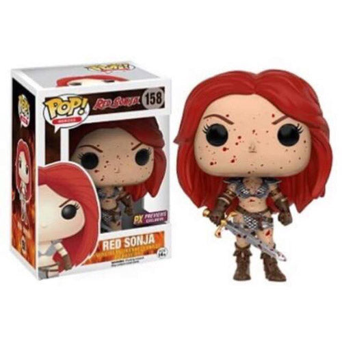 POP! Heroes RED SONJA (bloody exclusive) (NOT Mint)