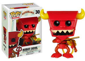 POP! Animation Futurama ROBOT DEVIL WITH VIOLIN (Exclusive)