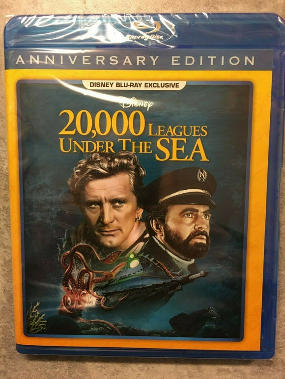 20,000 LEAGUES UNDER THE SEA Blu-Ray