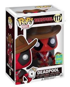 POP! Marvel DEADPOOL (Cowboy) (exclusive)
