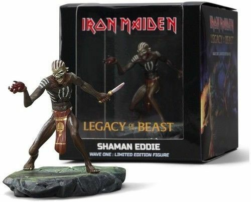IRON MAIDEN - Legacy of The Beast Shaman Eddie