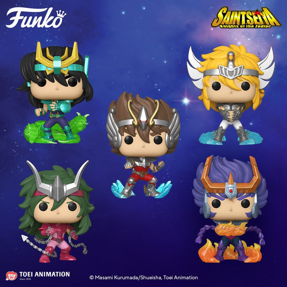 POP! Animation Saint Seiya Bundle 5-Pack (PRE-ORDER)