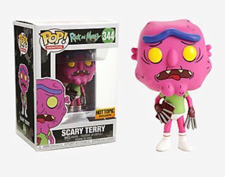 POP! Animation Rick & Morty: SCARY TERRY NO PANTS (exclusive)