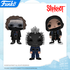 POP! Rocks SLIPKNOT Bundle 3-Pack (PRE-ORDER)