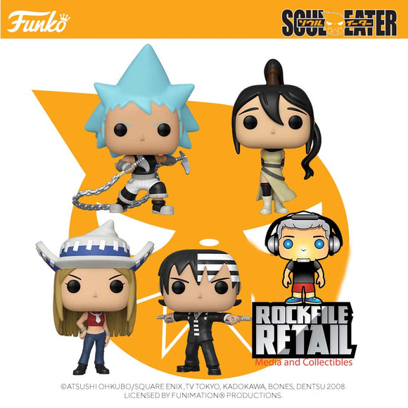 POP! Animation Soul Eater Bundle 4-Pack (PRE-ORDER)