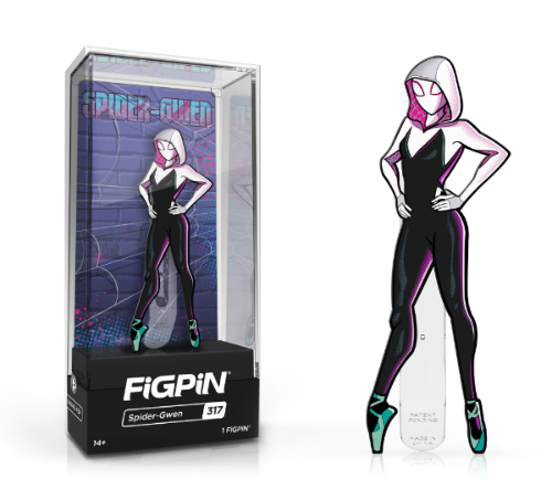 FiGPiN #317 Into The Spider-Verse SPIDER-GWEN Enamel Pin (PRE-ORDER)