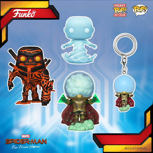 POP! Spider-Man FAR FROM HOME 4-Pack Bundle (PRE-ORDER)