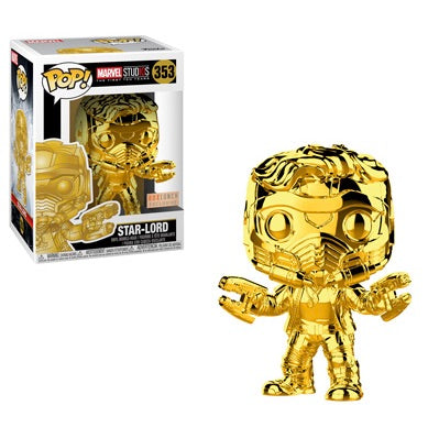 POP! Marvel Studios 10: Star-Lord (Gold Chrome) (exclusive)