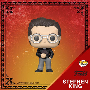 POP! Icons STEPHEN KING (PRE-ORDER)