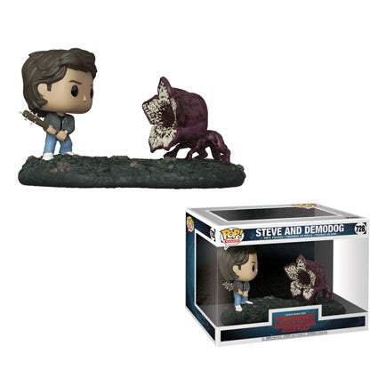 POP! TV Moment Stranger Things Steve vs. Demodog (PRE-ORDER)