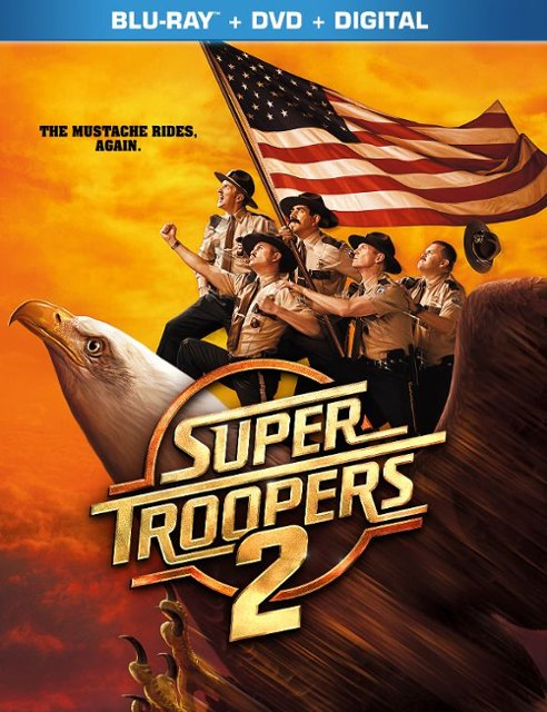 SUPER TROOPERS 2 Blu-Ray