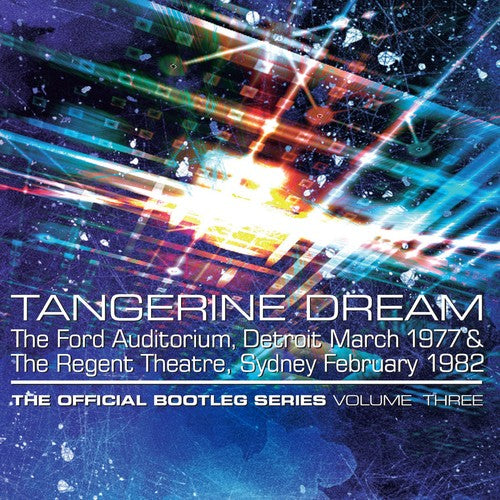 TANGERINE DREAM Official Bootleg Series Vol 3 (PRE-ORDER)