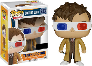 POP! Television Doctor Who TENTH DOCTOR (3D Glasses)
