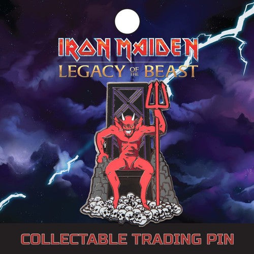 IRON MAIDEN The Beast Lapel Pin