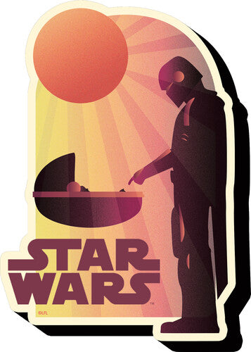 Funky Chunky Magnet Star Wars: The Mandalorian - The Child Sunset