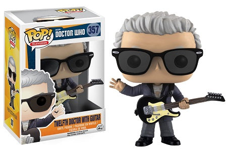 POP! Television Doctor Who TWELFTH DOCTOR WITH GUITAR (NOT Mint)