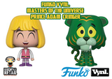 VYNL. Masters Of The Universe Prince Adam + Cringer Specialty Series (exclusive)