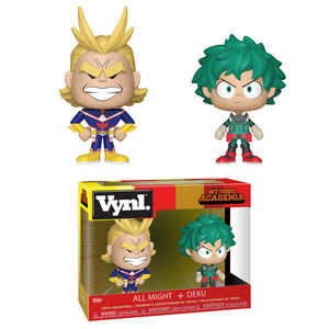 VYNL. My Hero Academia ALL MIGHT & DEKU (PRE-ORDER)