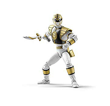 Power Rangers Lightning Collection 6-Inch Figures Wave 1: WHITE RANGER (PRE-ORDER)