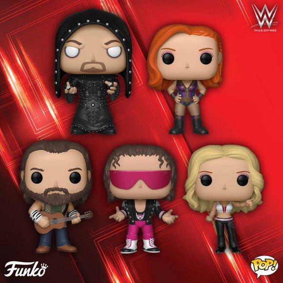 POP! WWE CHAMPIONS 5-Pack Bundle (PRE-ORDER)