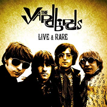 THE YARDBIRDS - Live & Rare CD/DVD (import) Box Set (PRE-ORDER)