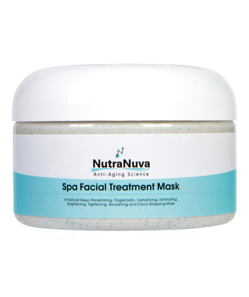 FACE FOOD Spa Facial Treatment Mask to Detoxify, Exfoliate, Brighten, Tighten, Moisturize & Nourish, VEGAN Formula